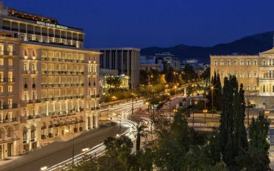 Grande Bretagne a Luxury Collection Hotel De Luxe